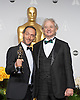 Emmanuel Lubezki poses with his Oscar and Bill Murray<br /> 86TH OSCARS<br /> The Annual Academy Awards at the Dolby Theatre, Hollywood, Los Angeles<br /> Mandatory Photo Credit: &copy;Dias/Newspix International<br /> <br /> **ALL FEES PAYABLE TO: &quot;NEWSPIX INTERNATIONAL&quot;**<br /> <br /> PHOTO CREDIT MANDATORY!!: NEWSPIX INTERNATIONAL(Failure to credit will incur a surcharge of 100% of reproduction fees)<br /> <br /> IMMEDIATE CONFIRMATION OF USAGE REQUIRED:<br /> Newspix International, 31 Chinnery Hill, Bishop's Stortford, ENGLAND CM23 3PS<br /> Tel:+441279 324672  ; Fax: +441279656877<br /> Mobile:  0777568 1153<br /> e-mail: info@newspixinternational.co.uk