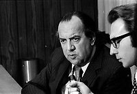 marcel Pepin<br /> , 4 janvier 1973<br /> <br /> PHOTO : Alain Renaud<br />  - Agence Quebec Presse<br /> <br /> NOTE : Lorsque requis : les ajustements finaux, recadrage et retouche des poussieres seront effectuées avant livraison, sur les images commandées.