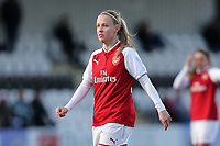 Beth Mead of Arsenal during Arsenal Women vs Yeovil Town Ladies, FA Women's Super League FA WSL1 Football at Meadow Park on 11th February 2018