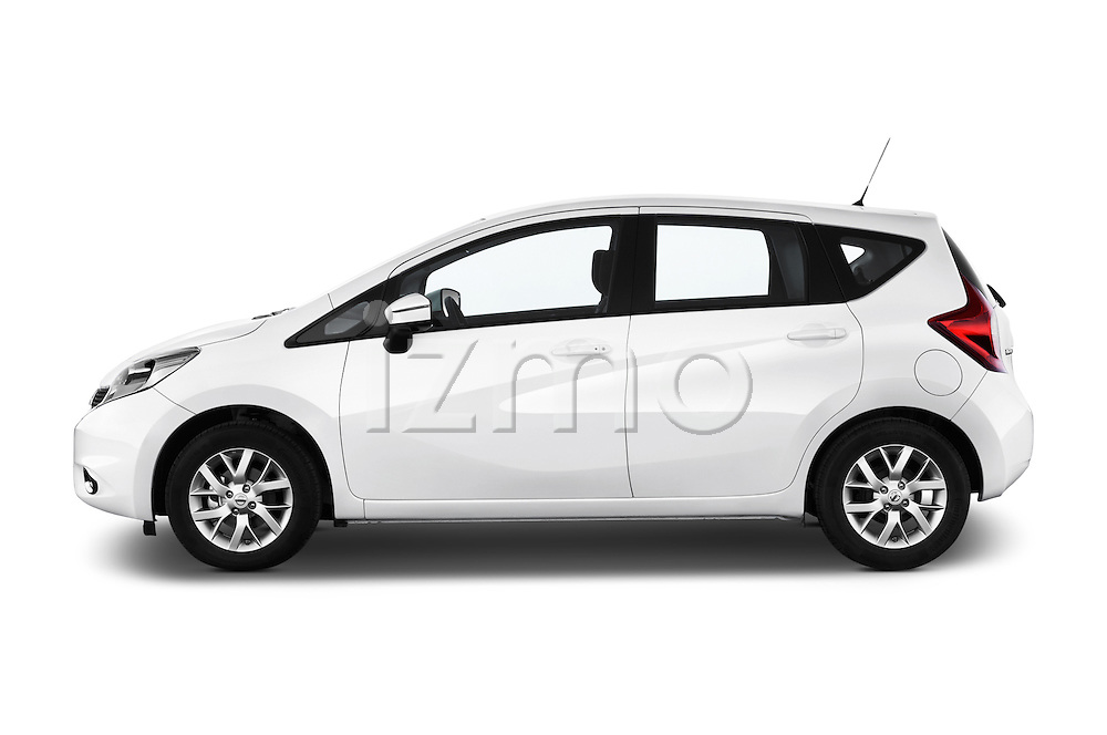 Driver side profile view of a 2013 Nissan NOTE 5 Door Hatchback 2WD