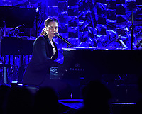 NEW YORK - JANUARY 27: Alicia Keys performs at the 2018 Clive Davis Pre-Grammy Gala at the Sheraton New York Times Square on January 27, 2018 in New York, New York. (Photo by Frank Micelotta/PictureGroup)