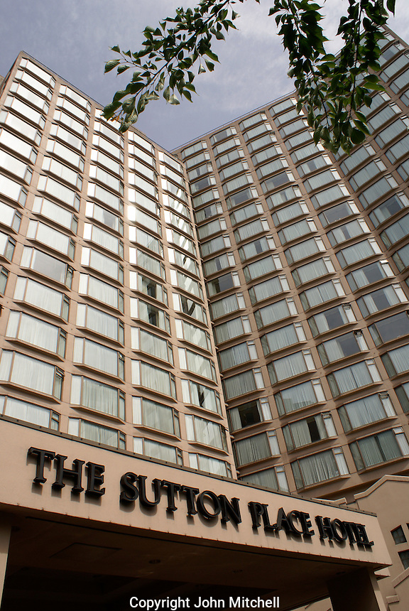 The Sutton Place Hotel in downtown Vancouver, British Columbia, Canada