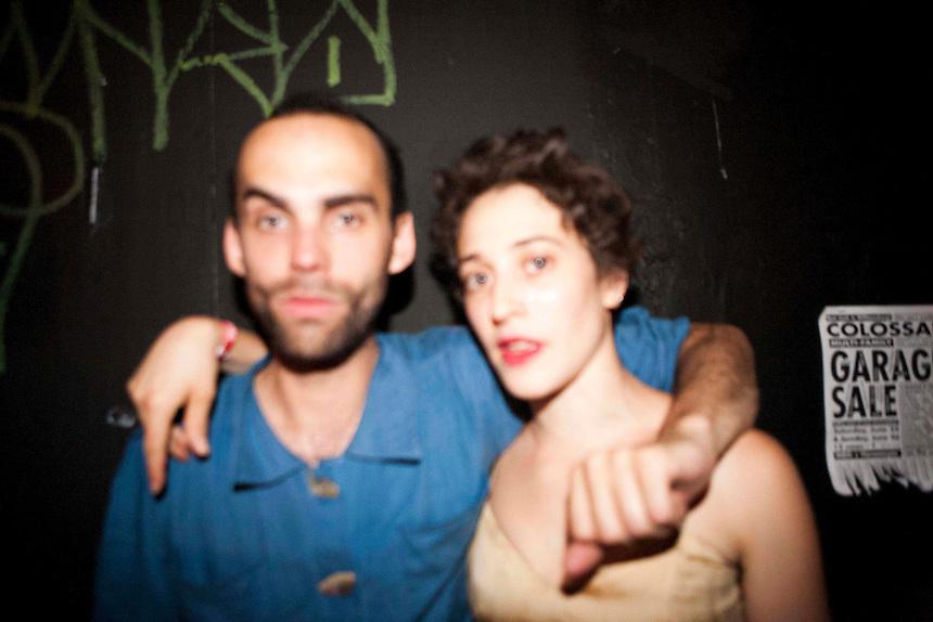 Michael Hart and Lily Gold | Photographer Unknown | Pussy Faggot: Gay Shame Revival | NY, NY | 2011