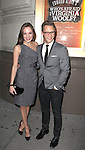 Nathan Johnson and Laura Osnes attending the Opening Night Performance of Edward Albee's 'Who's Afraid of Virginia Woolf?' at the Booth Theatre on October 13, 2012 in New York City.