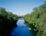 Town Lake near the Barton Creek Greenbelt hosts swimmers, kayakers and runners on its surrounding trail in Austin, Texas...BRANDON WILDE/AUSTIN MULTIMEDIA GROUP.Ben Sklar for VICE Magazine