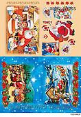 Alfredo, CHRISTMAS SANTA, SNOWMAN, decoupage, paintings(BRTOD1055,#X#,#DP#) Weihnachten, Navidad, illustrations, pinturas