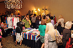 Visitors browse the bazaar at the Resiliency Lunch at the Hotel ZaZa Saturday Oct. 27,2012.(Dave Rossman photo)