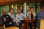 Kenny Logan, Bryan Redpath and Dougray Scott.<br /> Celebrity Cup Players BBQ<br /> Celtic Manor Resort<br /> 04.07.14<br /> &copy;Steve Pope-SPORTINGWALES