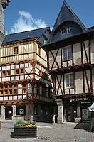 Europe/France/Bretagne/56/Morbilhan/Vannes: Maisons anciennes Place Henri IV