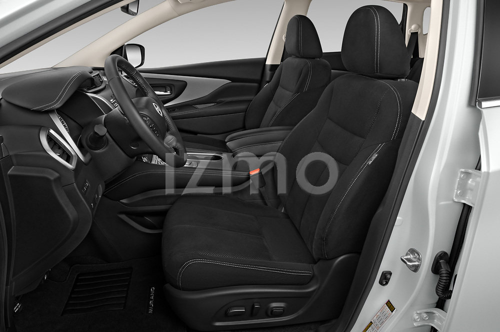 Front seat view of 2020 Nissan Murano SV 5 Door SUV Front Seat  car photos