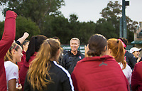 STANFORD, CA - November 23, 2018: Paul Ratcliffe at Laird Q. Cagan Stadium. The top seeded Stanford Cardinal defeated the Tennessee Volunteers 2-0 in the Quarterfinal of the NCAA tournament.