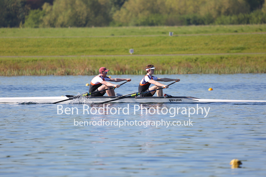 Race: 7  Event: J17 2x  Time Trial<br /> <br /> Junior Sculling Regatta 2018<br /> <br /> To purchase this photo, or to see pricing information for Prints and Downloads, click the blue 'Add to Cart' button at the top-right of the page.