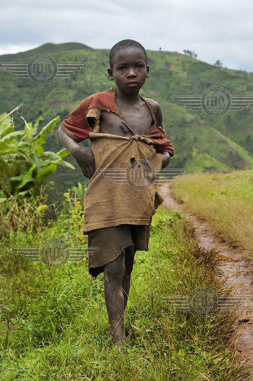 A young boy in the Mabayi Commune, Ruhororo Colline.