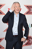 Louis Walsh<br /> arrives for the &quot;X Factor&quot; 2017 series launch at the Picturehouse Central, London. <br /> <br /> <br /> &copy;Ash Knotek  D3301  30/08/2017