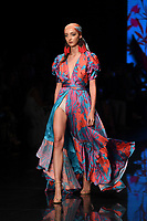 MIAMI, FL - JUNE 01: A model walks the runway the Glory Ang fashion Show during Miami Fashion Week at the Ice Palace Studios on June 1, 2019 in Miami Florida <br /> CAP/MPI04<br /> ©MPI04/Capital Pictures