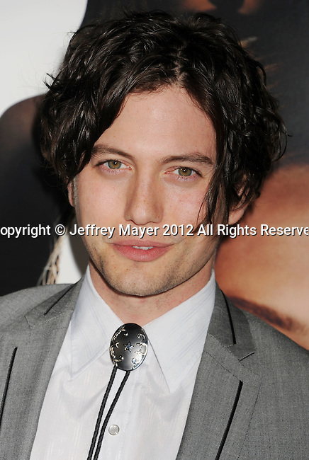 HOLLYWOOD, CA - FEBRUARY 21: Jackson Rathbone attends the 'Gone' Los Angeles Premiere at ArcLight Cinemas on February 21, 2012 in Hollywood, California.