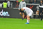 06.10.2019, Commerzbankarena, Frankfurt, GER, 1. FBL, Eintracht Frankfurt vs. SV Werder Bremen, <br /> <br /> DFL REGULATIONS PROHIBIT ANY USE OF PHOTOGRAPHS AS IMAGE SEQUENCES AND/OR QUASI-VIDEO.<br /> <br /> im Bild: Frust bei Milot Rashica (SV Werder Bremen #7)<br /> <br /> Foto © nordphoto / Fabisch