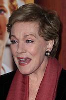 "BURBANK, CA - DECEMBER 09: Actress Julie Andrews arrives at the U.S. Premiere Of Disney's ""Saving Mr. Banks"" held at Walt Disney Studios on December 9, 2013 in Burbank, California. (Photo by Xavier Collin/Celebrity Monitor)"