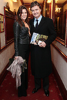 "NO REPRO FEE. 17/1/2010. The Field opening night. Aisling and Garry Purcell are pictured at the Olympia Theatre for the opening night of John B Keanes 'The Field"" Picture James Horan/Collins"