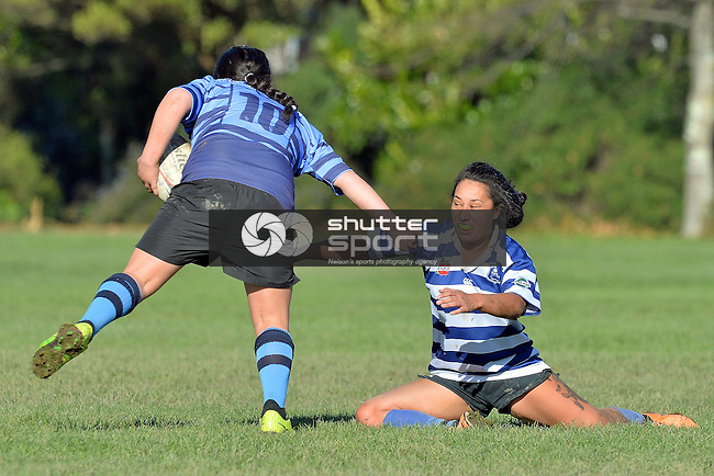 Women's Ten's Rugby, Neale Park, Nelson, New Zealand, Saturday 14 June 2014, Photo: Barry Whitnall/shuttersport.co.nz