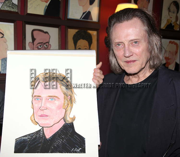 Christopher Walken.attending the Christopher Walken Caricature Unveiling at Sardi's Restaurant in New York City..April 6, 2010.