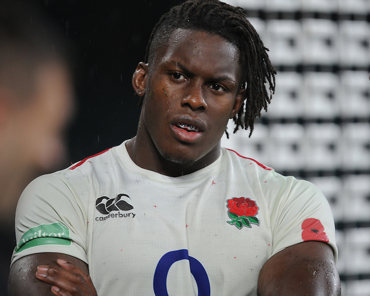 Maro Itoje of England after the Quilter International match between England and New Zealand at Twickenham Stadium on Saturday 10th November 2018 (Photo by Rob Munro/Stewart Communications)