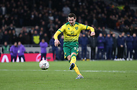 Norwich City's Kenny McLean misses his penalty during the shoot-out<br /> <br /> Photographer Rob Newell/CameraSport<br /> <br /> The Emirates FA Cup Fifth Round - Tottenham Hotspur v Norwich City - Wednesday 4th March 2020 - Tottenham Hotspur Stadium - London<br />  <br /> World Copyright © 2020 CameraSport. All rights reserved. 43 Linden Ave. Countesthorpe. Leicester. England. LE8 5PG - Tel: +44 (0) 116 277 4147 - admin@camerasport.com - www.camerasport.com