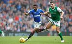 11.08.2019 Rangers v Hibs: Jermain Defoe and Darren McGregor