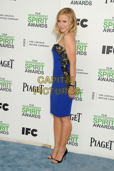 1 March 2014 - Santa Monica, California - Kristen Bell. 2014 Film Independent Spirit Awards - Arrivals held at Santa Monica Beach. <br /> CAP/ADM/BP<br /> &copy;Byron Purvis/AdMedia/Capital Pictures