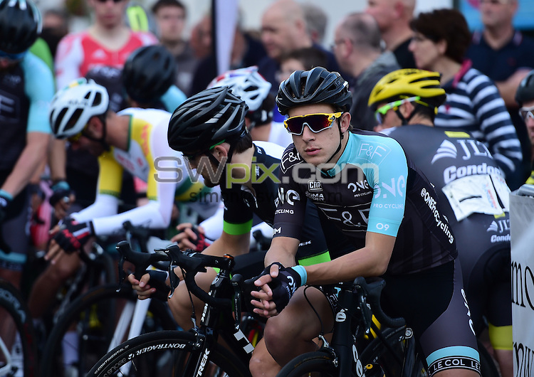Picture by Alex Broadway/SWpix.com -  Cycling - British Cycling Elite Circuit Series 2015 - Wales Open Criterium - Abergavenny, Wales - 07/08/15 - Jon Mould of One Pro Cycling looks on prior to the race.