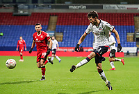 Bolton Wanderers' Will Buckley crosses<br /> <br /> Photographer Andrew Kearns/CameraSport<br /> <br /> Emirates FA Cup Third Round - Bolton Wanderers v Walsall - Saturday 5th January 2019 - University of Bolton Stadium - Bolton<br />  <br /> World Copyright &copy; 2019 CameraSport. All rights reserved. 43 Linden Ave. Countesthorpe. Leicester. England. LE8 5PG - Tel: +44 (0) 116 277 4147 - admin@camerasport.com - www.camerasport.com