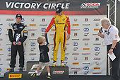 F4 US Championship<br /> Rounds 13-14-15<br /> Virginia International Raceway, Alton, VA USA<br /> Sunday 27 August 2017<br /> 2, Skylar Robinson, victory lane<br /> World Copyright: Gavin Baker<br /> LAT Images