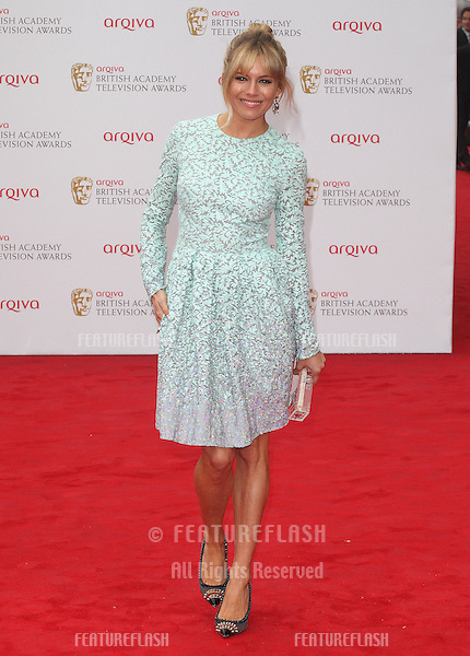 Sienna Miller arriving for the TV BAFTA Awards 2013, Royal Festival Hall, London. 12/05/2013 Picture by: Alexandra Glen / Featureflash
