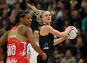 10th September 2017, PG Arena, Napier, New Zealand; Taini Jamison Netball Trophy, New Zealand versus England;  New Zealands Shannon Francois