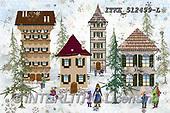 Isabella, CHRISTMAS LANDSCAPES, WEIHNACHTEN WINTERLANDSCHAFTEN, NAVIDAD PAISAJES DE INVIERNO, paintings+++++,ITKE512499-L,#xl#