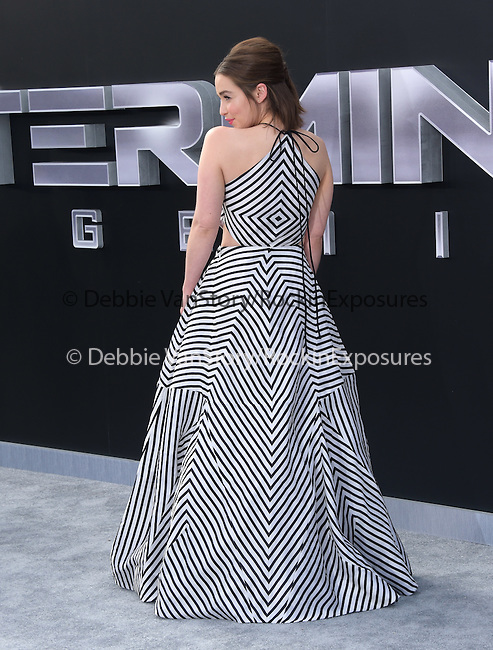 Emilia Clarke attends The Paramount Pictures L.A. Premiere of Terminator Genisys held at The DolbyTheatre  in Hollywood, California on June 28,2015                                                                               © 2015 Hollywood Press Agency