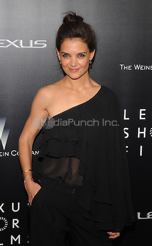 New York,NY-August 6: Katie Holmes attends the 'Life is Amazing' Lexus Short Films Series at SVA Theater In New York City on August 6, 2014 . Credit: John Palmer/MediaPunch