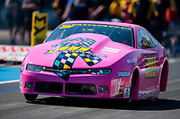 Oct 19, 2019; Ennis, TX, USA; NHRA pro stock driver Jeg Coughlin Jr during qualifying for the Fall Nationals at the Texas Motorplex. Mandatory Credit: Mark J. Rebilas-USA TODAY Sports