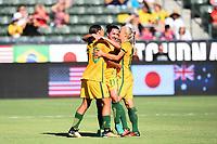 WNT Australia vs Brazil, August 3, 2017