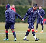 16.3.2018: Rangers training:<br /> Bruno Alves and Dalcio