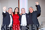 Des Hurley, Natalie Murphy, John and Oliver Hurley Tralee Musical Society's who were  nominated for awards at the All Ireland Musical Society Awards in the INEC on Saturday night