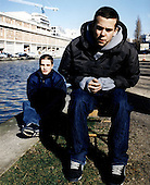 2001: M83 - Photosession in Paris France