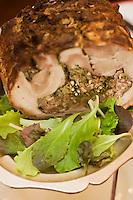Europe/France/Provence-Alpes-Côte d'Azur/06/Alpes-Maritimes/Nice:  La Porchetta du restaurant: Chez Poupon et Marinette