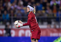 Jenny Bindon. The USWNT tied New Zealand, 1-1, at an international friendly at Crew Stadium in Columbus, OH.