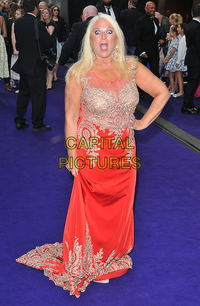 Vanessa Feltz at the &quot;Disney's Aladdin&quot; press night, Prince Edward Theatre, Old Compton Street, London, England, UK, on Wednesday 15 June 2016.<br /> CAP/CAN<br /> &copy;CAN/Capital Pictures