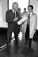 - Giovanni Agnelli e Romano Prodi (Roma, 1976)....- Giovanni Agnelli and Romano Prodi (Rome, 1976)..