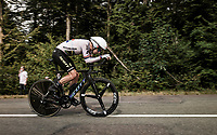 Daryl Impey (ZAF/Mitchelton-Scott) on the steep parts of the individual time trial up the infamous Planche des Belles Filles<br /> <br /> Stage 20 (ITT) from Lure to La Planche des Belles Filles (36.2km)<br /> <br /> 107th Tour de France 2020 (2.UWT)<br /> (the 'postponed edition' held in september)<br /> <br /> ©kramon