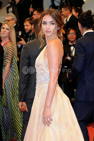 Ana De Armas at the 'Hands of Stone' screening during The 69th Annual Cannes Film Festival on May 16, 2016 in Cannes, France.<br /> CAP/LAF<br /> &copy;Lafitte/Capital Pictures /MediaPunch ***NORTH AND SOUTH AMERICA ONLY***