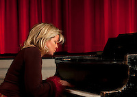 Musician at the piano.
