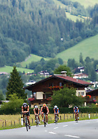 14 AUG 2010 - KITZBUEHEL, AUT - Jedermann Triathlon .(PHOTO (C) NIGEL FARROW)